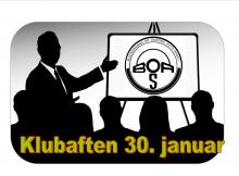 Klubaften 30. januar